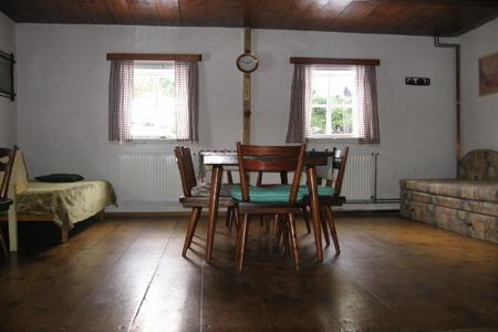 Chaty a chalupy - Chalupa v Rokytnici v Orlických horách - obývací pokoj