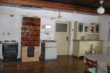 Chaty a chalupy - Chalupa v Rokytnici v Orlických horách - kuchyňka
